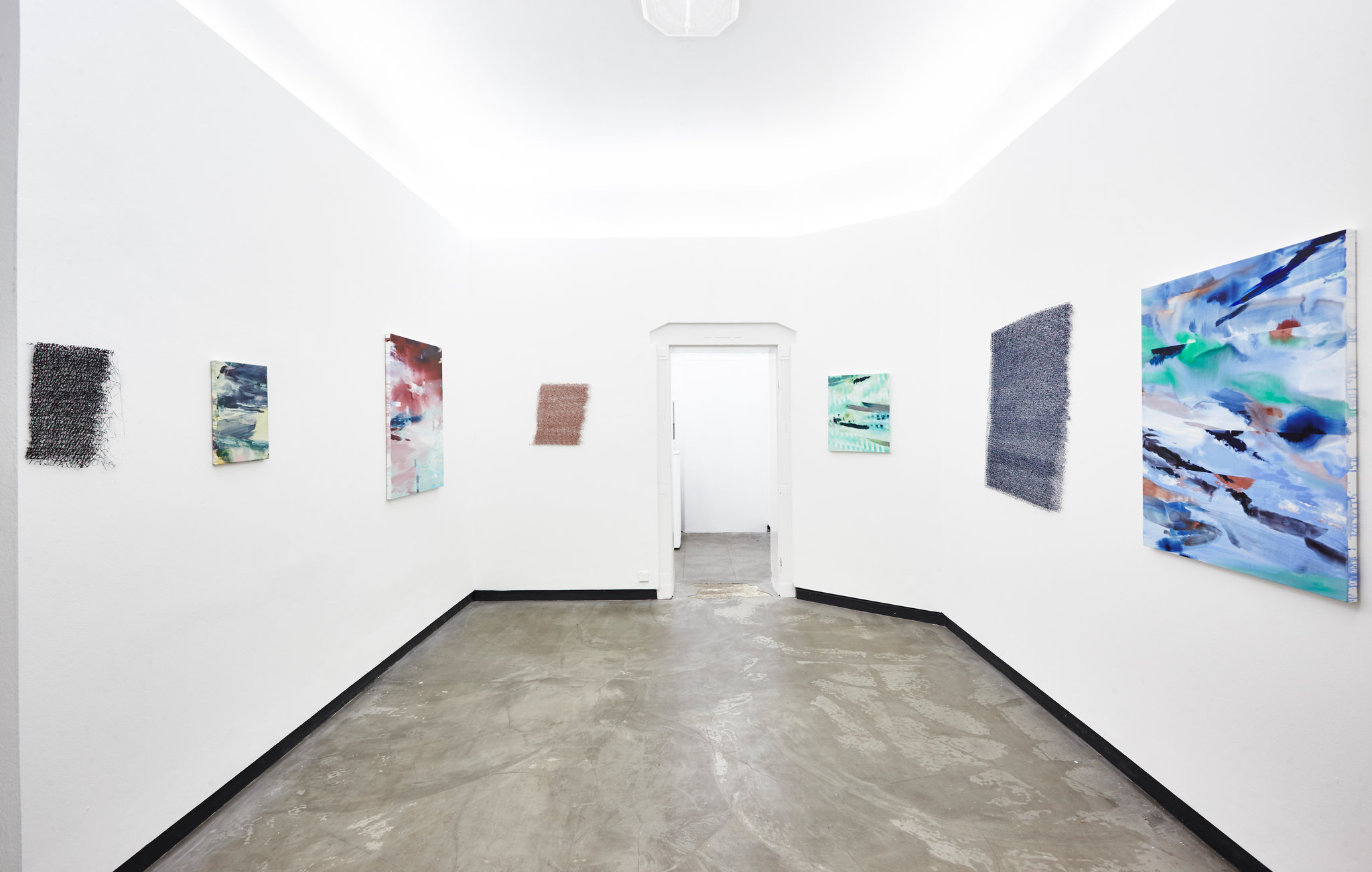 "Anina Brisolla, Michelle Jezierski, Installation views from ""2@SP2 Number 4"""
